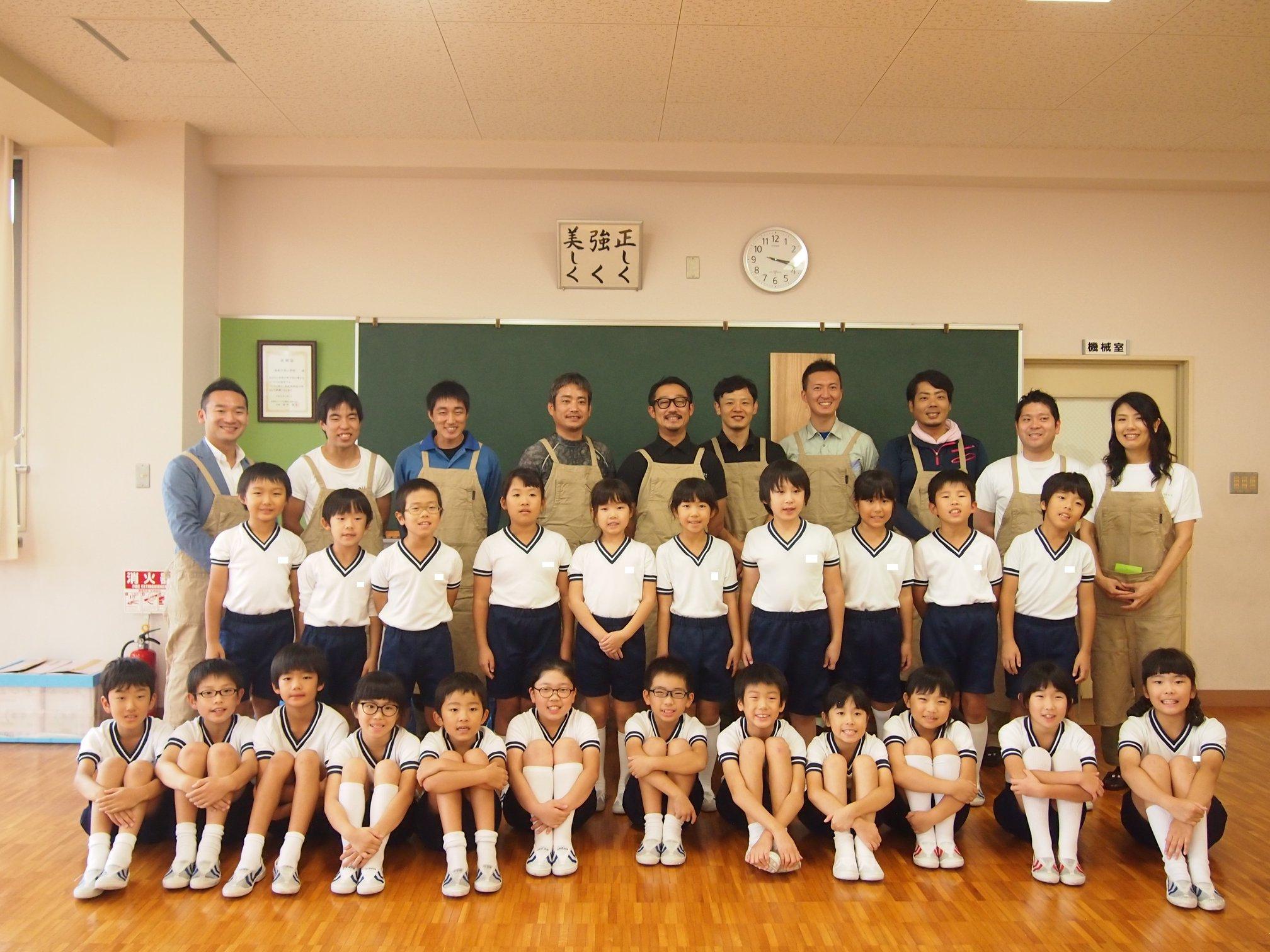 徳島文理小学校にて木育出前授業「木育教室」開催!