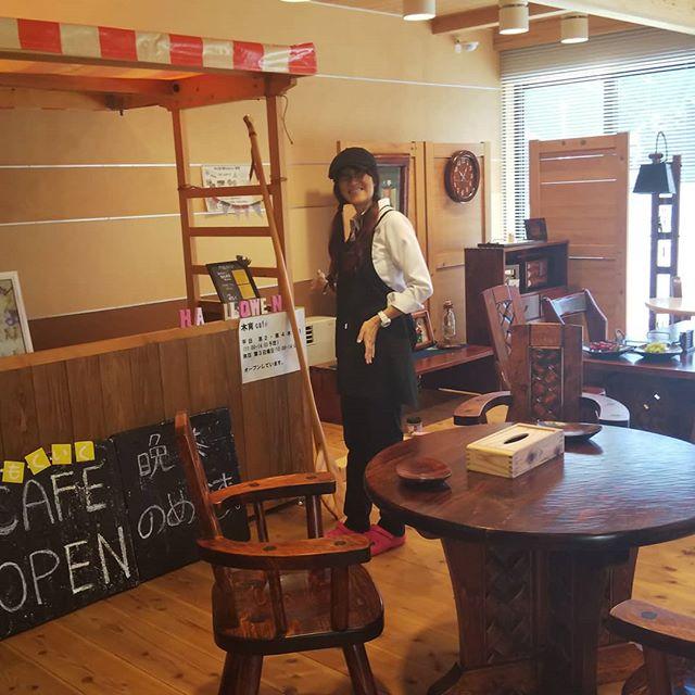 木育カフェ本日10~14時オープン@ 那賀町林業ビジネスセンター クレープも新登場!