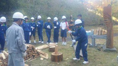 木育 木のエネルギー利用を学ぼう!