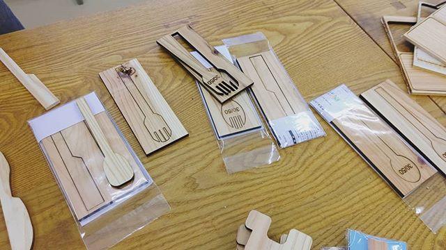那賀高校×那賀ウッド 実践木育授業でぞくぞくと製品試作中!