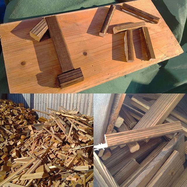 木育サミットにむけて端材で工作!